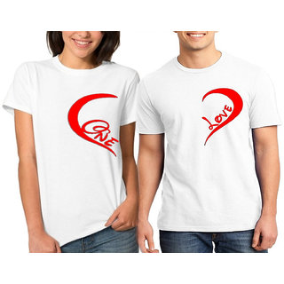 Caca Anp One Love Couple Combo Tshirts