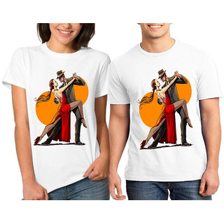 Caca Anp Dance With Heart Couple Combo Tshirts
