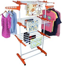 INDISWAN HIGH QUALITY CARBON COATED CLOTH DRYING STAND AT WHOLESALE PRICE (MADE IN INDIA)
