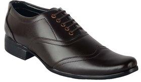 Austrich Mens Brown Decent Formal Shoes