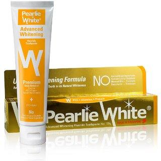 Pearlie White Advanced Whitening Fluoride Toothpaste (4.6oz)