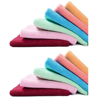 Angel home set of 6 Face towels (s2)