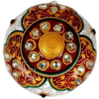 Ages Art marble jaipur meenakari with kundan work sindoor dani
