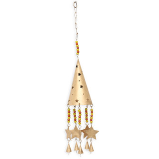 Scone Shaped Wind Chime With Stars