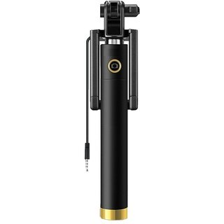 Online Artistic Aux Cable Selfie Stick no Bluetooth or batteries required