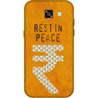 Print Opera Hard Plastic Designer Printed Phone Cover for  Samsung Galaxy A7 (2017) Rest In Peace note