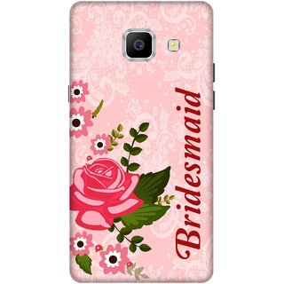 Print Opera Hard Plastic Designer Printed Phone Cover for   Samsung Galaxy A9 Pro (2016) Bridesmaid with pink background