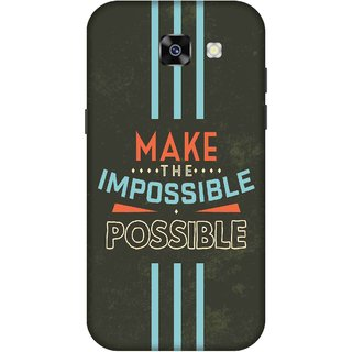 Print Opera Hard Plastic Designer Printed Phone Cover for  Samsung Galaxy A5 (2017) Make impossible possible