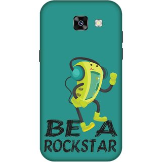 Print Opera Hard Plastic Designer Printed Phone Cover for  Samsung Galaxy A5 (2017) Beta rockstar yellow