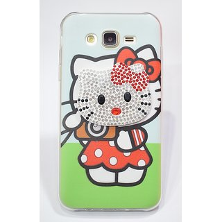 Hello Kitty Glittering Back cover for Samsung J7