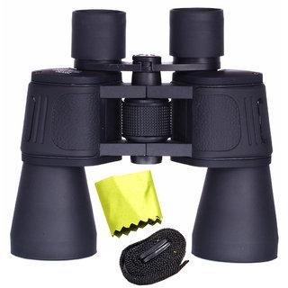 Waterproof Bushnell 20X50 Zoom 20X Prism Binocular Telescope Monocular with Pouch -26