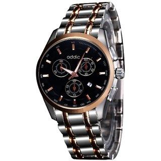 Addic Elegenant Stylish Black Dial Watch For Men's  Boys.