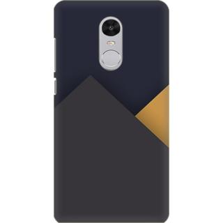 Printed Designer Back Cover For Redmi Note 5 - Retro Color Shapes Design