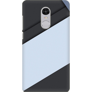 Printed Designer Back Cover For Redmi Note 5 - Retro Color Shapes Design