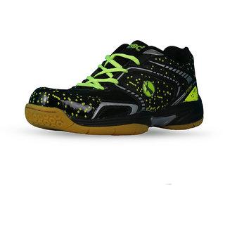 Feroc Black Marble Unisex Badminton Shoes
