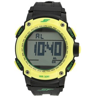 Sonata Digital Grey Mens Watch - 77073PP05
