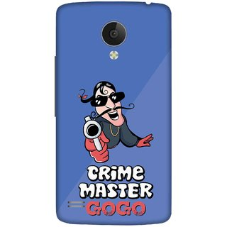Print Opera Hard Plastic Designer Printed Phone Cover for   Vivo Y21L Crime master gogo