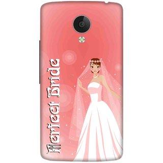 Print Opera Hard Plastic Designer Printed Phone Cover for   Vivo Y21L Perfect Bride