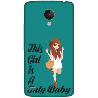 Print Opera Hard Plastic Designer Printed Phone Cover for   Vivo Y21L This girl is a july baby