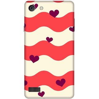 Print Opera Hard Plastic Designer Printed Phone Cover for   Oppo Neo 7 Hearts