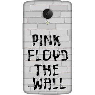 Print Opera Hard Plastic Designer Printed Phone Cover for   Vivo Y21L Pink floyd the wall