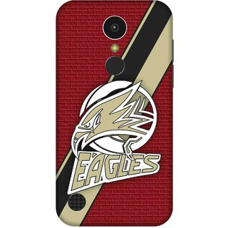 Print Opera Hard Plastic Designer Printed Phone Cover for   LG K10 (2017) Eagles with red background