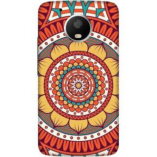Print Opera Hard Plastic Designer Printed Phone Cover for   Moto G5 Plus Flowers pattern