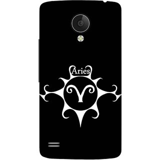 Print Opera Hard Plastic Designer Printed Phone Cover for   Vivo Y21L Aries