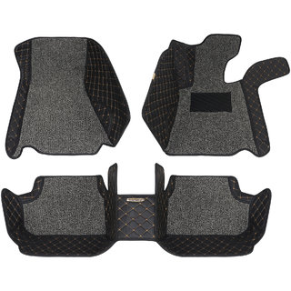 Autofurnish 5D Plus Car Mats For BMW X1 - Black Grey