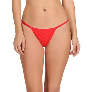 Madam Solid/Plain Mini Micro G-String Thong Panties