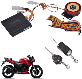 Motorcycle Anti-Theft Alarm Security System with Remote Start for All Bikes