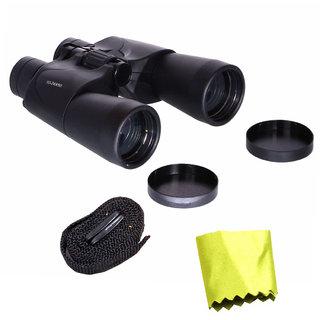 Waterproof COMET 10-25X Zoom 10-25X50 Prism Binocular Telescope Monocular with Pouch -30