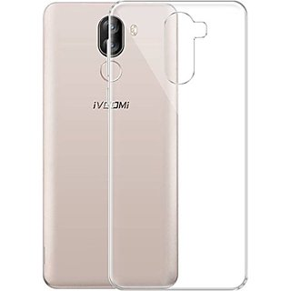 ECS Transparent Soft Back Case Cover For iVooMi i1