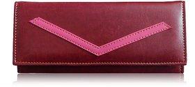 Sn Louis Maroon Women Wallet