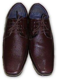 Nootan Men,s Brown Leather Lace Up Shoes