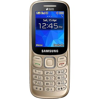 Samsung Metro 313 Dual Sim  (Gold)