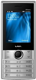 Lava KKT 40 Power Plus 2.4 Display,1.3 MP Camera,3000 M