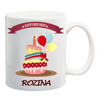 Buy Awwsme Happy Birthday With Cake Rozina Coffee Mug Online Get