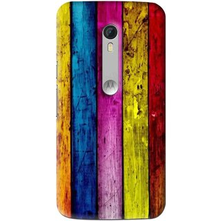 huge selection of cd59e 13a26 Snooky Printed Stylo Stripe Mobile Back Cover For Motorola Moto X Style -  Multi