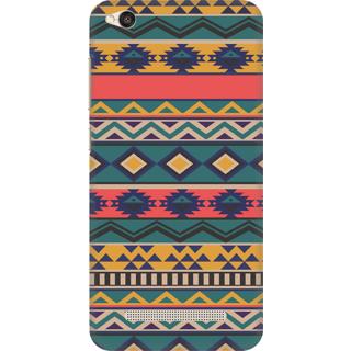 Printed Designer Back Cover For Redmi 5A - Tribal Pattern Design