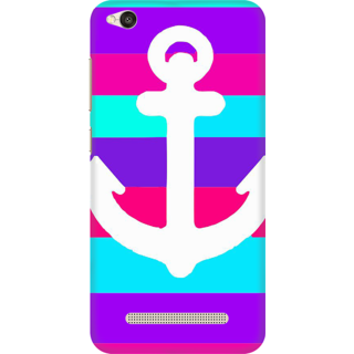 Printed Designer Back Cover For Redmi 5A - Anchor Design