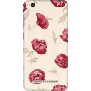 Printed Designer Back Cover For Redmi 5A - Floral Design Design