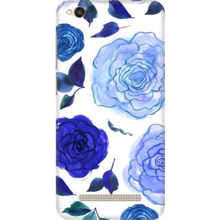 Printed Designer Back Cover For Redmi 5A - Floral Design