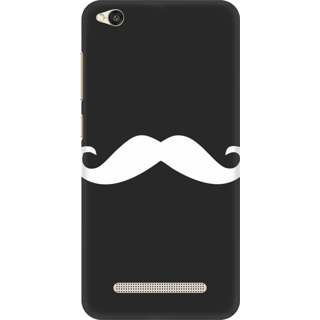 Printed Designer Back Cover For Redmi 4A - Mouthstaches Design