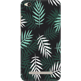 Printed Designer Back Cover For Redmi 4A - Colorful Leaves Pattern Design