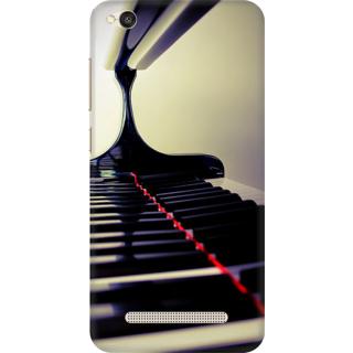 Printed Designer Back Cover For Redmi 4A - Piano Design