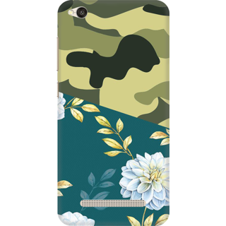 Printed Designer Back Cover For Redmi 4A - Creative Pattern Design