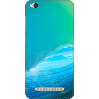 Printed Designer Back Cover For Redmi 4A - Surfin Waves Design