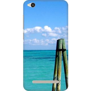 Printed Designer Back Cover For Redmi 4A - water Design