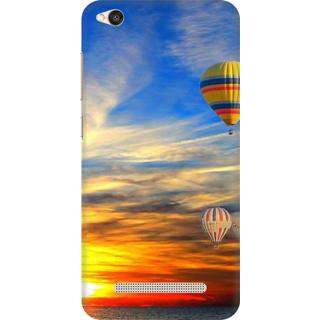 Printed Designer Back Cover For Redmi 4A - sun riceing Design